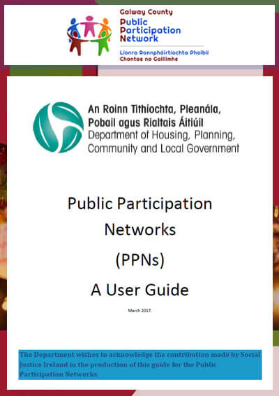 Department of Housing, Planning, Community and Local Government – Public Participation Network's User Guide